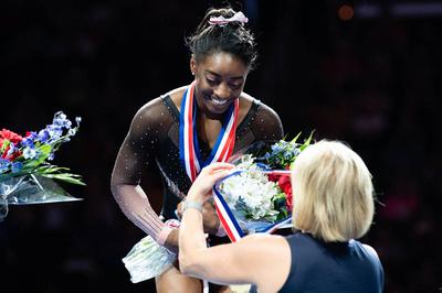 Simone Biles, 2019 U.S. all-around champion