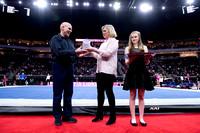 Tom Koll receives a service award