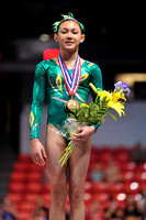 Kyla Ross -  3rd place Jr. All-Around
