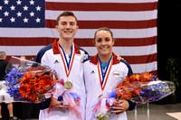 Steven Gluckstein and Savannah Vinsant - Olympians
