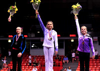 Medalists in the All-Around.