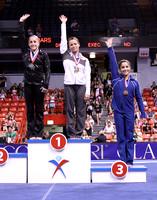 Balance Beam medalists - Alicia Sacrmone & Jordyn Wieber (1st), Aly Raisman (3rd)