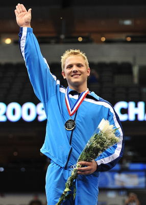 Cameron Rogers won the 16-18 year old All-Around