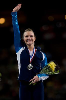 Bridget Sloan wins the all-around title