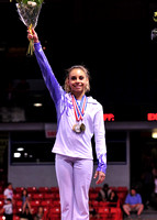 Mattie Larson was the Sr. All-Around Champion