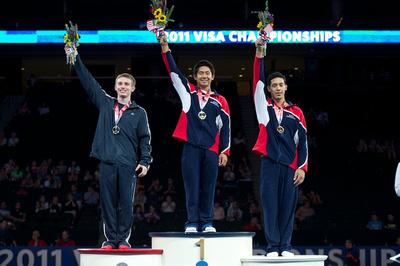 Junior 16-18 all-around medalists