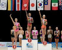 Junior Ribbon medalists