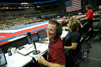 Dan Mowdy, the PA Announcer