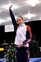 Rebecca Sereda - Senior all-around champion