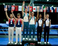 Senior Men's Synchro medalists