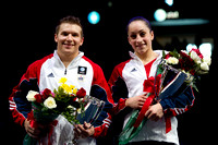 Jonathan Horton and Jordyn Wieber - 2011 AT&T American Cup champions