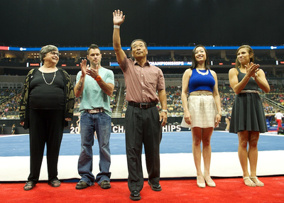 The 2014 USA Gymnastics Hall of Fame Class is recognized