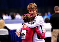 Amanda Jetter with her coach