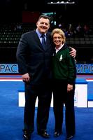 USA Gymnastics President Steve Penny with Governor Chris Gregoire