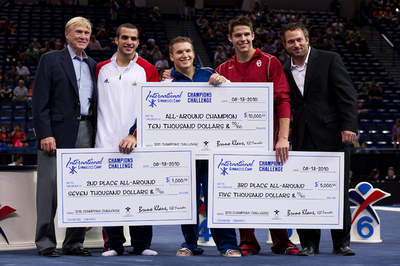 Jonathan Horton, Danell Leyva and Chris Brooks were the big winners in the Champions Challenge