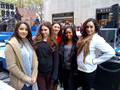 Nov. 19, 2012 - Fierce Five on the Today Show