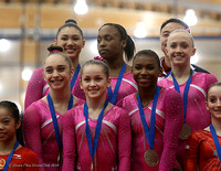 USA with their gold medals