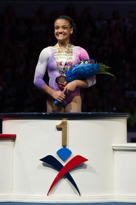 Lauren Hernandez - All-Around champion