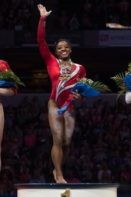 Simone Biles - All-around champion