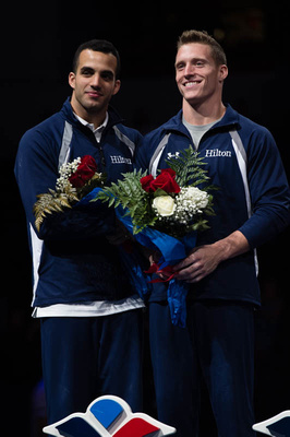 Danell Leyva and Steven Legendre