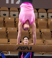 Kyla Ross and her coach