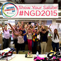 "2015 National Gymnastics Day ""Show Your Salute"""