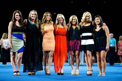 The 2007 Women's World Championships Team, new Hall of Fame inductees