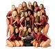 2016 Collegiate Gymnastics Team Photos