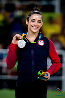 Aly Raisman - floor exercise silver medalist