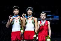 Men's Junior Trampoline Medalists