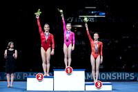 Balance Beam medalists
