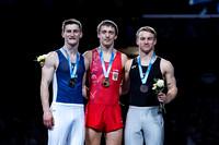 Senior Men's Trampoline Medalists