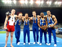 The USA men and their event medals