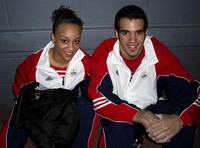 Kytra Hunter and Danell Leyva