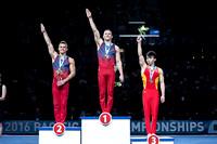 Pommel Horse medalists
