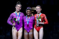 Senior Women's All-Around Medalists