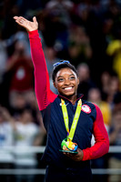 Simone Biles, 2016 Olympic all-around gold medalist
