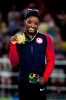 Simone Biles - floor exercise gold medalist