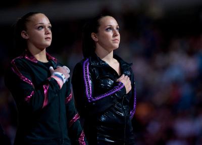 Kaitlyn Clark and Chellsie Memmel