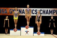 Senior Hoop Medalists