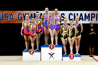 Senior Women's Group Medalists