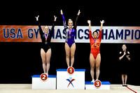 Women's Trampoline Medalists