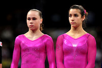 Rebecca Bross and Alexandra Raisman