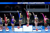 12-13 Age Group podium