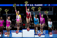 Senior All-Around Podium