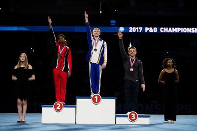 15-16 Vault Medalists