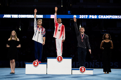 15-16 High Bar Medalists