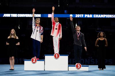 15-16 High Bar Medalists
