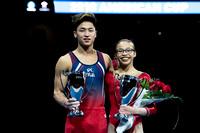 Yul Moldauer and Morgan Hurd -  2018 American Cup Champions