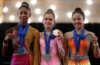Junior medalists